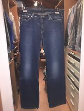 VERSACE JEANS COUTURE JEANS CON STRASS 46 BLU