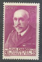 France 1939 MNH Mi 460 Sc B69 Jean Baptiste Charcot, French scientist, medic **