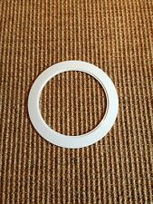"6"" INCH RECESSED CAN LIGHT OVER SIZE TRIM RING WHITE fit all LED 6 inch trims"