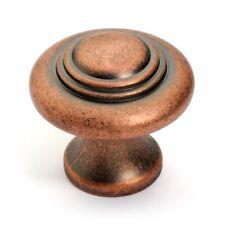 Concentric Antique Copper Cabinet Knob K-9229-AC
