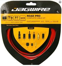 Jagwire Road Pro Racer Red Road Câble Lot Gear & Frein Shimano Et Campagnolo