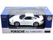 AUTOMAXX 850101 PORSCHE 911 997 TURBO 1/24 DIECAST WHITE