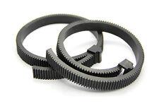 Adjustable universal Follow focus gear ring rubber belt for DSLR Lens focusing