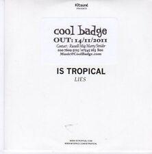 (CE406) Is Tropical, Lies - 2011 DJ CD