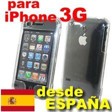 Funda Rigida Cristal Transparente para iPhone 3 / 3G