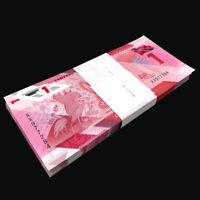 Lot 1000 PCS, Trinidad Tobago 1 Dollar, 2020/2021, P-New, Polymer, Banknote UNC