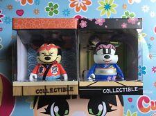 "Disney Vinylmation JAPAN 3"" Sushi Mickey & Geisha Minnie Love Tokyo 2-Figure"