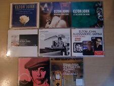 JOB LOT: Elton John x8 CD singles pack inc. Your Song, I Want Love