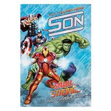 Hallmark Marvel Avengers Super Hero Son Birthday Card with Envelope