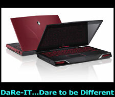 "DaRe UFO Alienware M14x i7 RED +SSHD +Win7 or Win10 orp£1299 14.1"" Gaming Laptop"