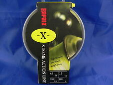 Rapala X extreme long casting action line 0,20 200 mt pesca spinning, casting