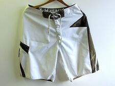 Quiksilver Surf Board Shorts Mens Sz 30 Kelly Slater Signature White Green Camo