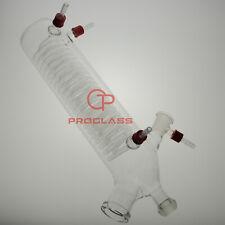 Proglass Lab Rotary Evaporator glass condenser vertical for Buchi,200mm Body