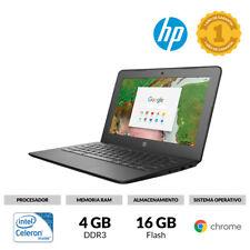 "PORTÁTIL 11,6"" HP CHROMEBOOK 11 G6 CELERON N3350 4GB RAM 16GB FLASH WINDOWS 10"