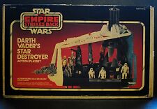 Star Wars ESB Vintage Darth Vader's Star Destroyer Playset Unused w/ Box Inserts