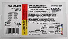 Sylvania QTP 2x26CF/UNV DM-S Quicktronic Electronic Ballast