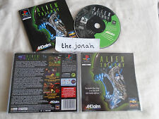 Alien Trilogy PS1 (COMPLETE) black label Sony PlayStation rare shooter FPS