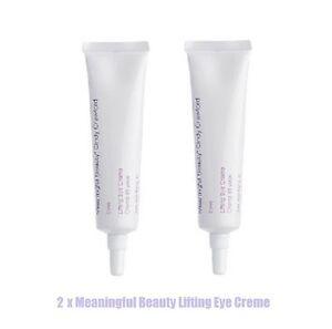 2 x Cindy Crawford Meaningful Beauty Lifting Eye Creme - Total 15 mL