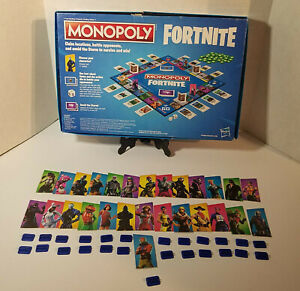 Monopoly: Fortnite Edition Board Game, Replacement Outfits & Stands Only, Hasbro