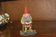Rien Poortvliet Classic David the Gnome Kabouter Statue Scott with Kilt 03