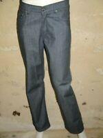 MISE AU GREEN Taille 40 Superbe pantalon jeans jean denim gris homme
