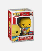 The Simpsons Comic Book Guy Funko Pop - 2020 NYCC Shared Exclusive - Funko Pop