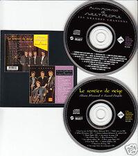 ALAIN MORISOD / SWEET PEOPLE Les Grandes Chansons/Le Sentier de Neige 2-DISC CD