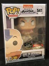 Funko Pop! Aang On Airscooter Avatar Glow Chase Edition Very Rare!