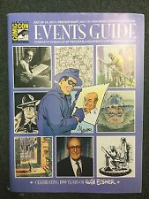 SDCC 2017 2017 Comic Con Events Guide Complete Schedule and Events Book!
