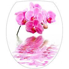 Sticker WC, sticker abattant de WC déco Orchidée 319