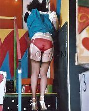 Org Amateur Semi Nude Large (8 x 10) Photo- Funhouse- Skirt- Butt- Stockings- #7