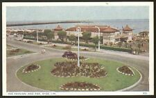 Isle of Wight. Ryde. The Pavilion & Pier - 1957 Vintage Printed Postcard