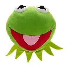 Muppets Most Wanted Kermit Frog Big Face Cushion Pillow Soft Stuffed Plush
