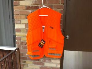 Gamehide Chukkar/300 Front Loading Vest, Quilted Shoulder Patches, NWT  X-Large