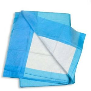 200 × DISPOSABLE UNDERPADS 4 PLY 60×42.5CM (4 Packets of 50) (BLUEYS)