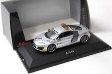 1:43 Schuco Audi R8 Safety Car DTM 2008 silver NEW bei PREMIUM-MODELCARS