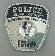 dallas police emergency response team emroidered  iron on /sew on patch