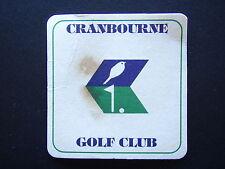 CRANBOURNE GOLF CLUB COASTER