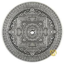 FIJI 10$ 2015 Silver 999. 3oz Antique Finish MANDALA ART 1 First coin in series!