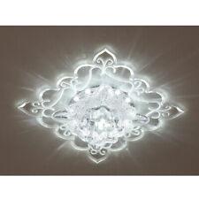 Modern Crystal LED Ceiling Light Pendant Lamp Hallway Aisle Chandelier Light US