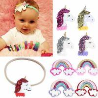 regenbogen - kopfbedeckung baby - stirnband haar - accessoires einhorn haarband