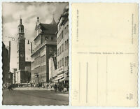 43764 - Augsburg - Maximilianstraße mit Perlach - Echtfoto - alte Ansichtskarte