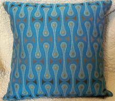 Maharam DESIGN 9297 by Josef Hoffmann TURQUOISE Contemporary Modern Pillow