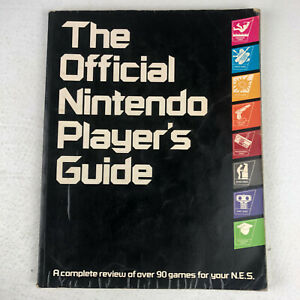 The Official Nintendo Players Guide Vintage 1987 Nintendo NES Printed in Japan