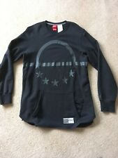 NIKE AIR PIVOT CREW SWEATSHIRT - BLACK - LARGE L - RARE - LOOK!