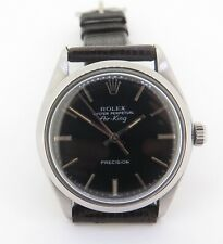.Vintage 1977 Rolex Airking Ref 5500 Steel Men's Watch cal 1520 Serviced