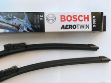 """A980S BOSCH AEROTWIN PAIR  Front Wiper Blades  600mm/475mm 24""""/19"""" OE spec"""