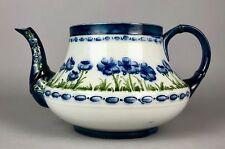 Moorcroft Pottery, Macintyre & Co-bleu pavot-Florian Ware tea coffee pot pichet