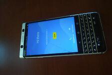 BlackBerry Keyone BBB100-1, AT&T, Nero/Argento, schermo rotto, per pezzi di ricambio