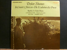 DYLAN THOMAS In Country Heaven LP  1971  Stereo U.S.    NEAR-MINT !